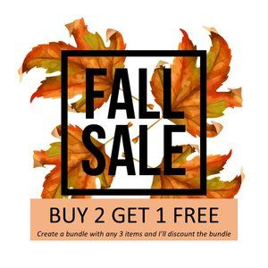 Closet clearout! Buy 2 Get 1 FREE!